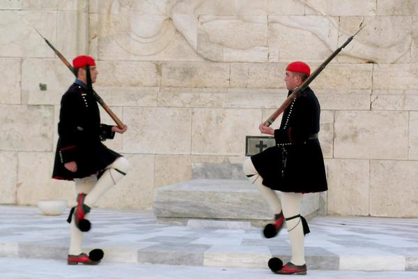 Journey to Greece Change of the Guards