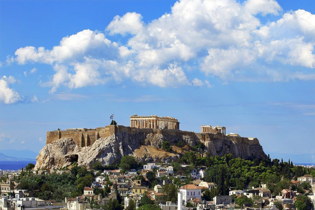 Acropolis & the Parthenon, Athens