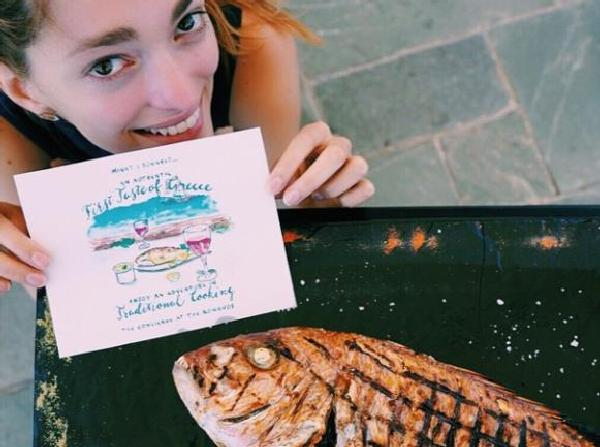 The Romanos Resort Sofia Sanchez Cooking Class