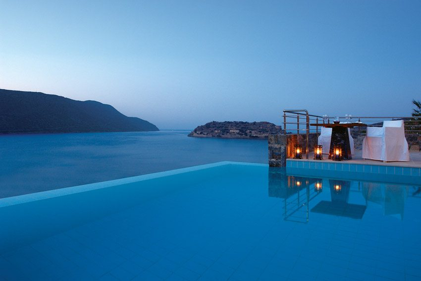 Blue Palace Resort Elounda Crete Romance Private Dining