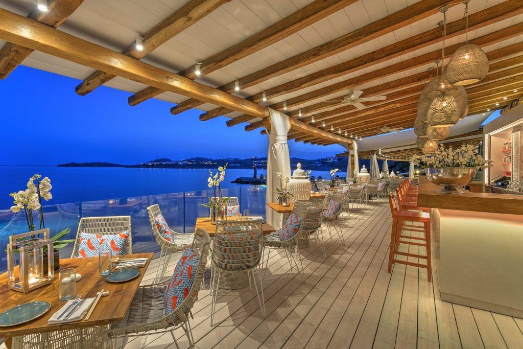 Buddha Bar Beach – Santa Marina Resort in Mykonos