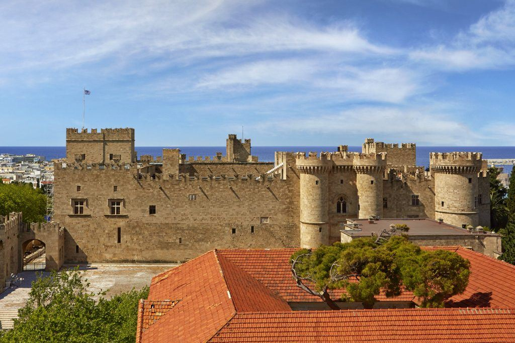 Palace of the Grand Master - Medieval Town of Rhodes
