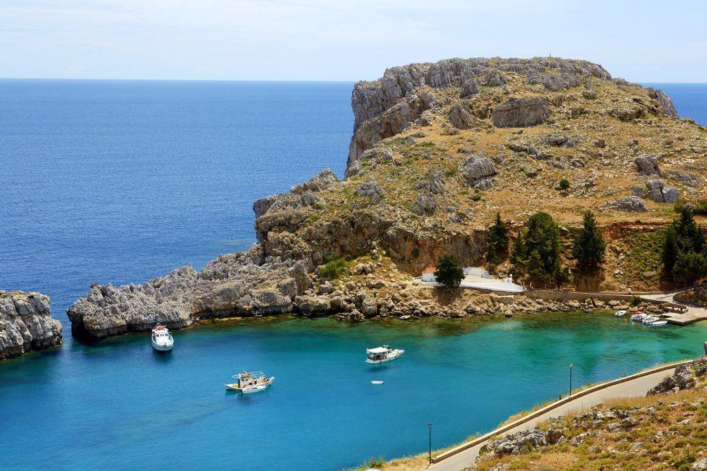 Saint Paul Bay - Lindos, Rhodes