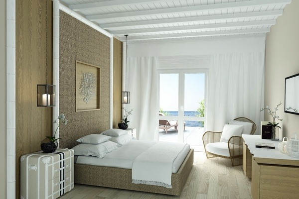 Journey to Greece Santa Marina Resort Mykonos Superior Room