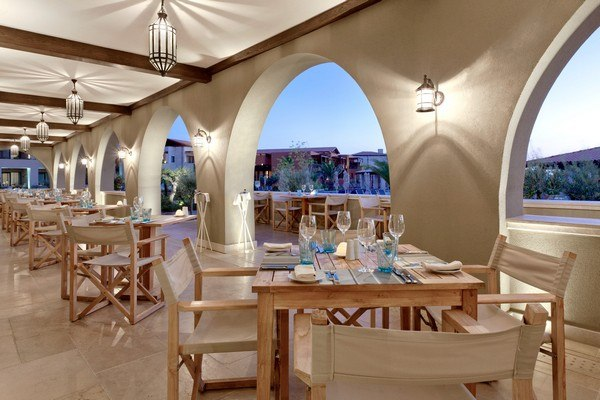 Journey to Greece The Romanos Costa Navarino Dining