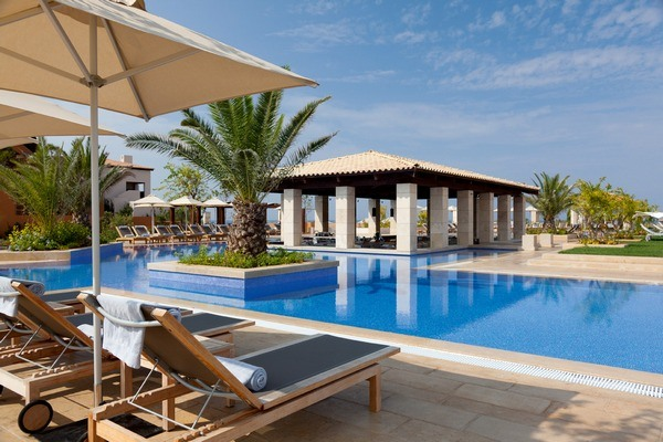Journey to Greece The Romanos Costa Navarino Romanos Pool Bar