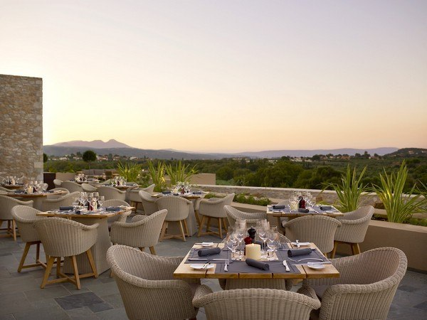 Westin Costa Navarino - Flame Terrace - Restaurant - Greece