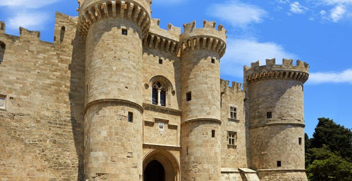 Located at the highest point of the Medieval Town of Rhodes, the Palace of the Grand Master served as the Headquarters of the Knights of Saint John, during Medieval Times. It survived through centuries only to be destroyed around 1850. Today it is a museum and venue for cultural events.