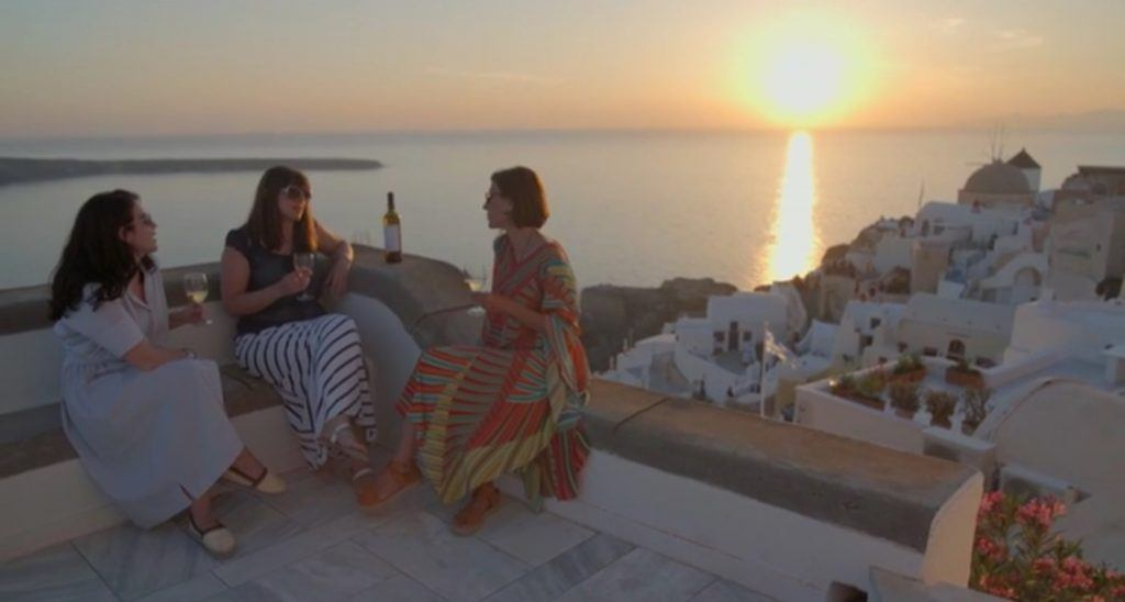 Santorini Sunset at Mystique, a Luxury Collection Hotel_SPG TV_Journey Greece