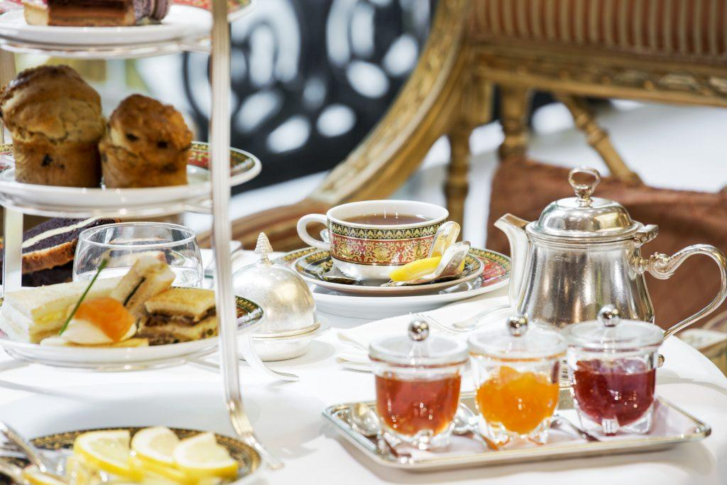 Afternoon Tea at Grande Bretagne Hotel Journey to Greece Athens Winter Garden