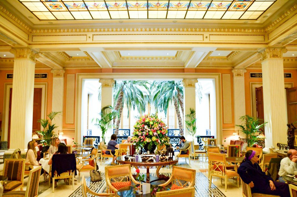 Afternoon Tea at Grande Bretagne Journey to Greece Athens