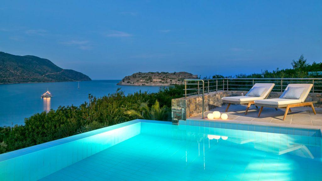 Journey Greece Travel Leisure Award Best Hotel Resort in Greece Crete Blue Palace