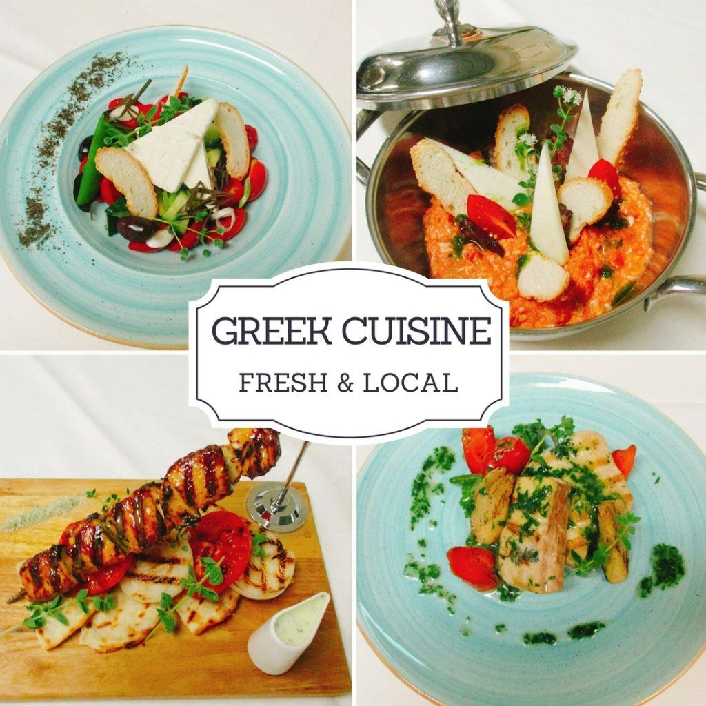 Greek Cuisine at Thea Restaurant Sheraton Rhodes Resort