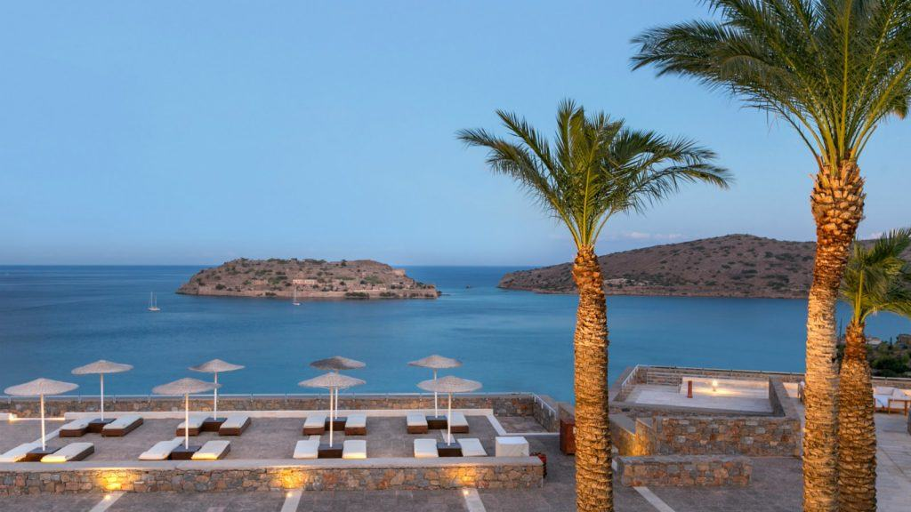 Arsenali Lounge Overview Spinalonga - Meetings in Crete BLue palace