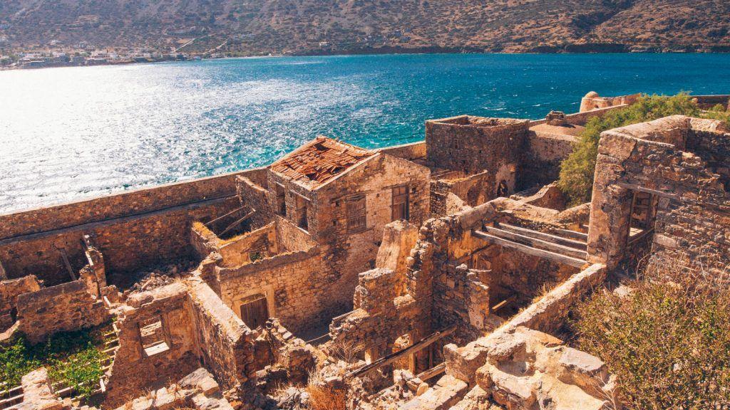spinalonga island elounda crete blue palace hotel