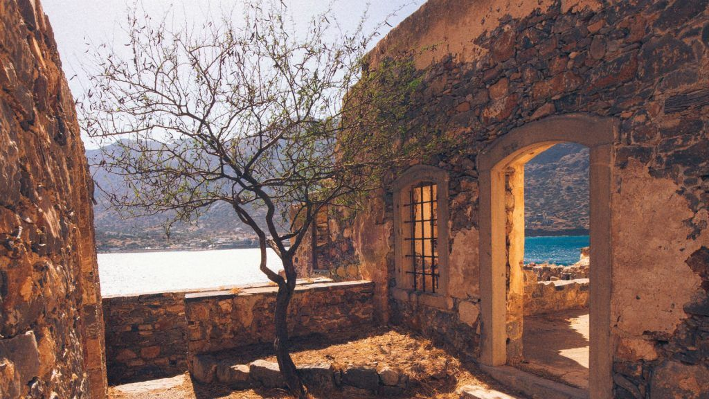 spinalonga island national monument crete elounda blue palace resort