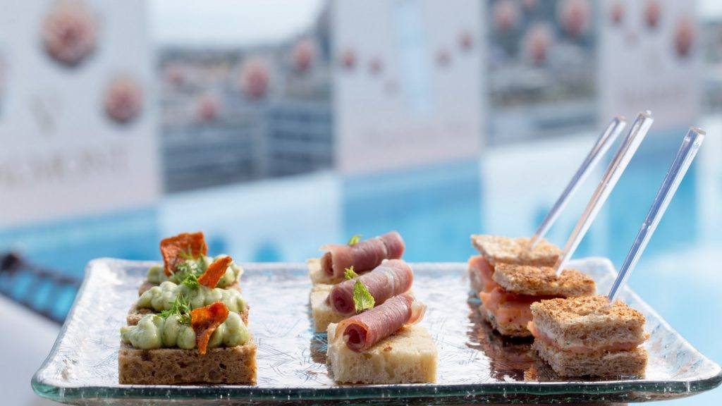 Aperitivo by the Pool Presidential Suite
