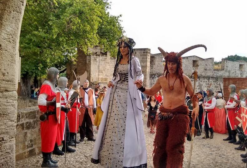 by Anna Achiola Medieval Festival Rhodes