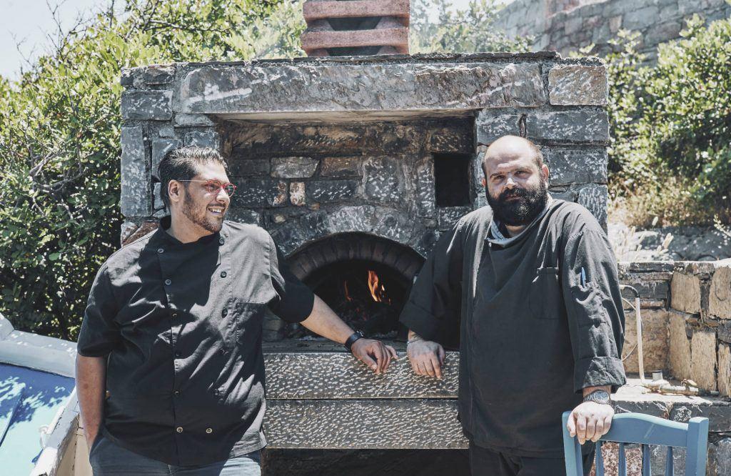 Chefs Athinagoras Kostakos & Komninos Mouflouzelis (2)