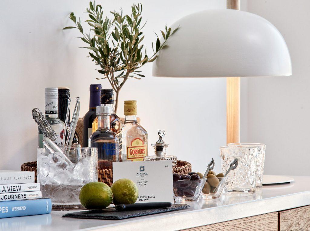 Blue Palace hotel luxury new island suites crete elounda greece
