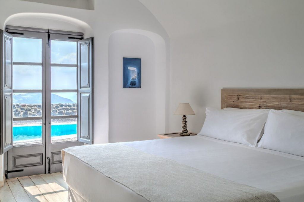 villas santorini vedema resort
