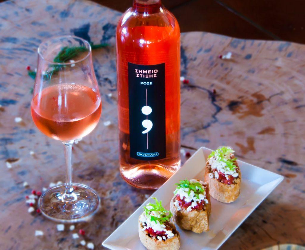 ntakos-wine sheraton rhodes paired