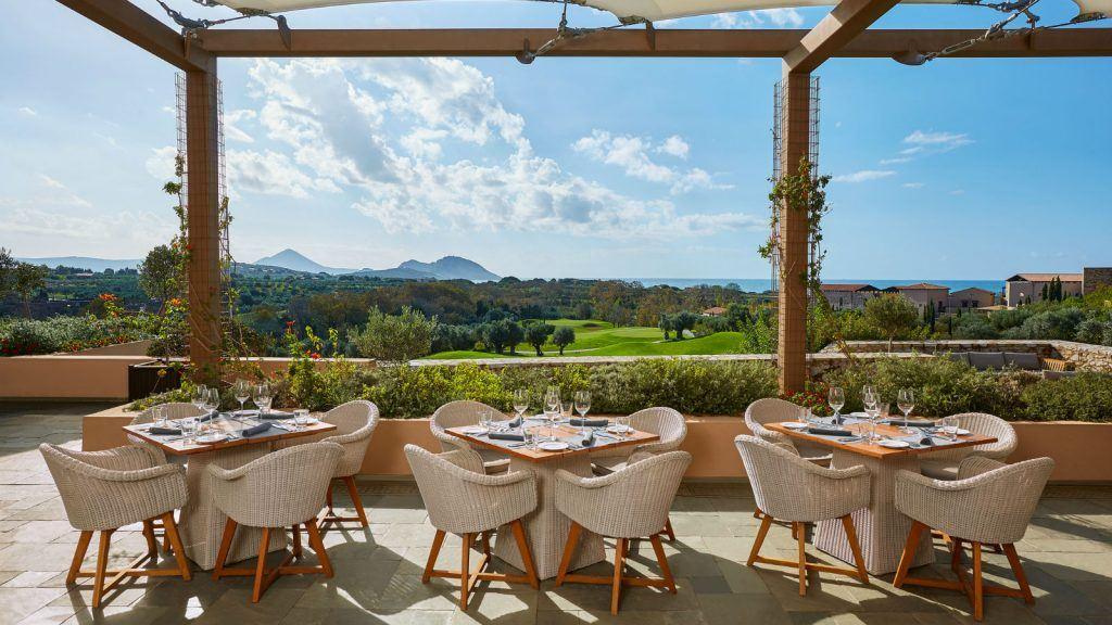 Flame restaurant costa navarino messinia greece