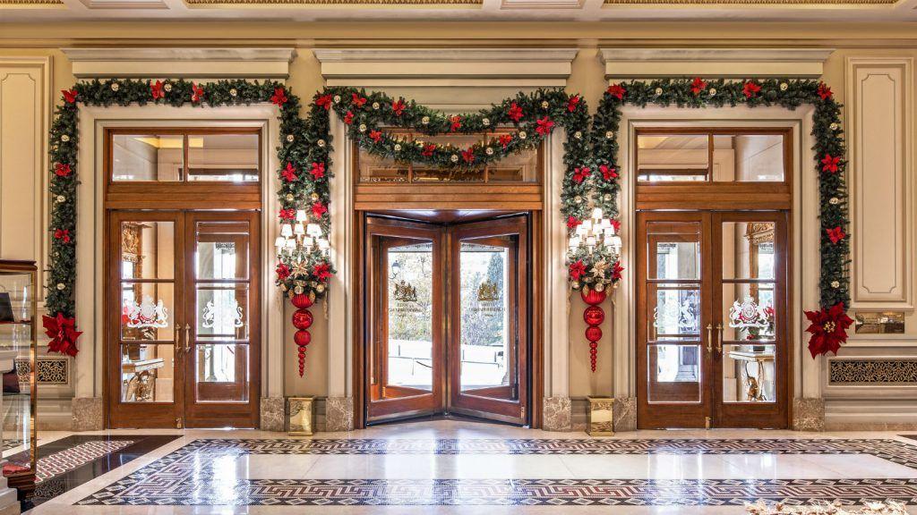 Christmas Decoration-Med hotel grande bretagne athens