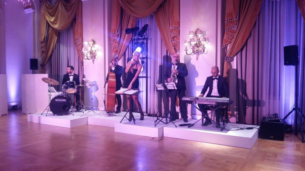 pink panther high tea hotel grande bretagne athens jazz band