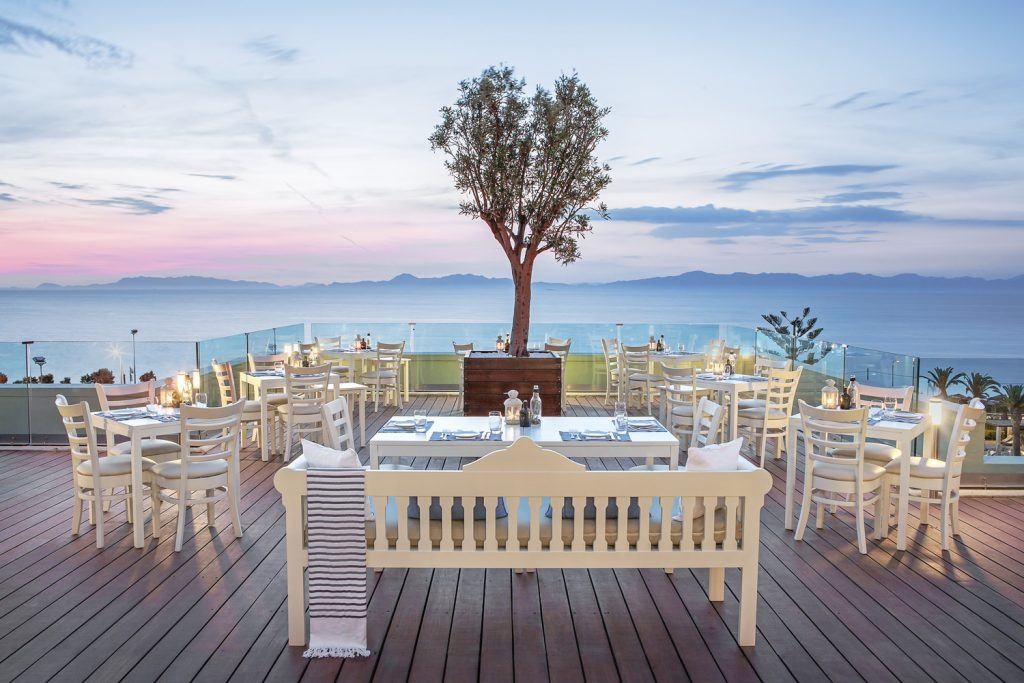 F&B - Thea Restaurant - rhodes resort sheraton greece