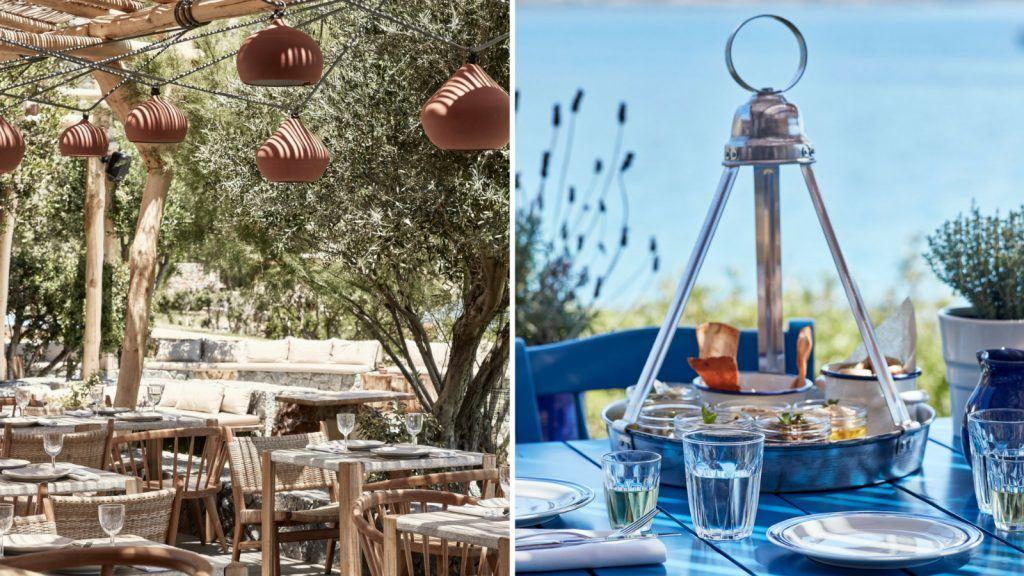 DINING journey greece story blue palace resort crete elounda