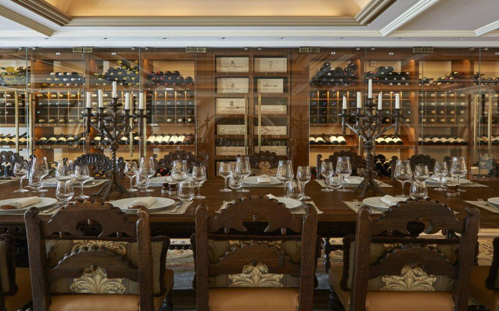 Wine Library Story hotel grande bretagne athens