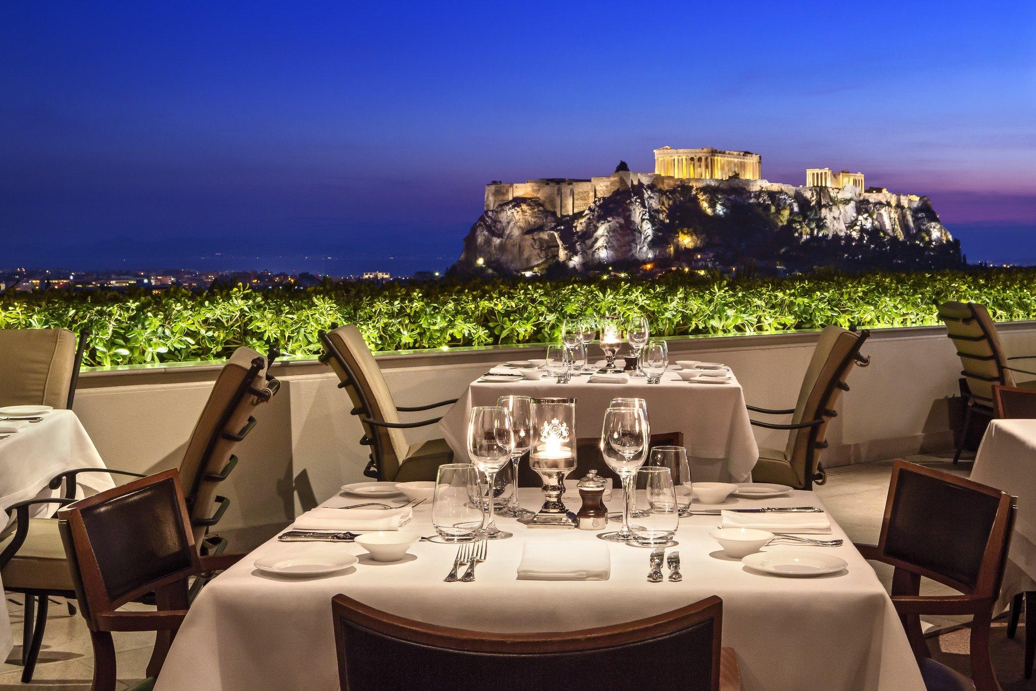 GB Roof Garden Restaurant_hotel grande bretagne athens