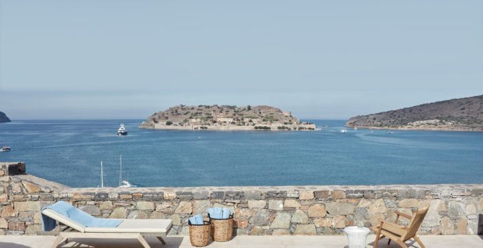 Island Luxury Suite Sea View Private Heated Pool- Blue Palace Resort Crete