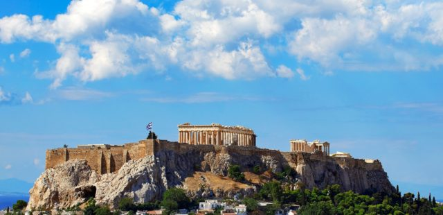 The Parthenon at daytime