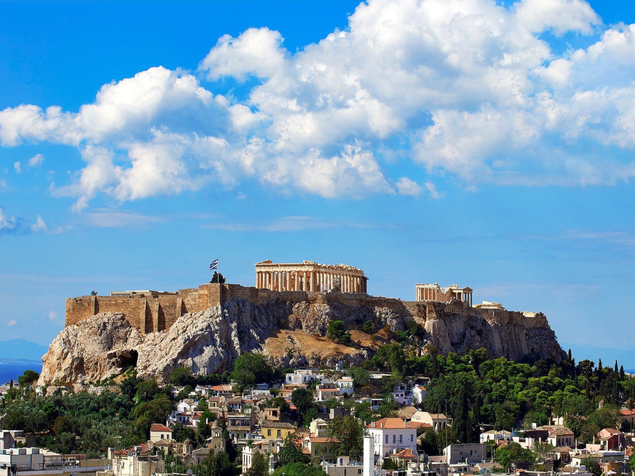 The Parthenon at daytime