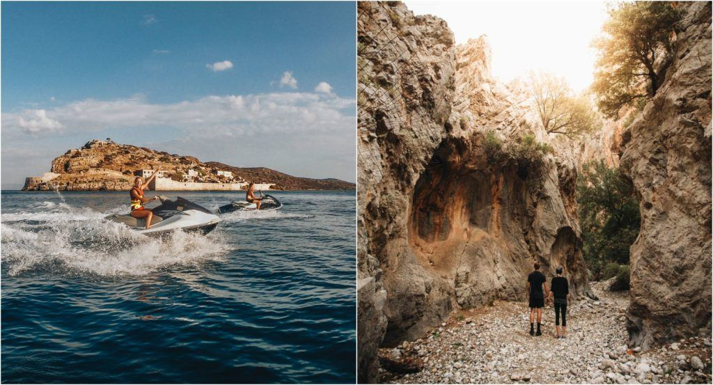 activities blue palace elounda crete greece fitness journey