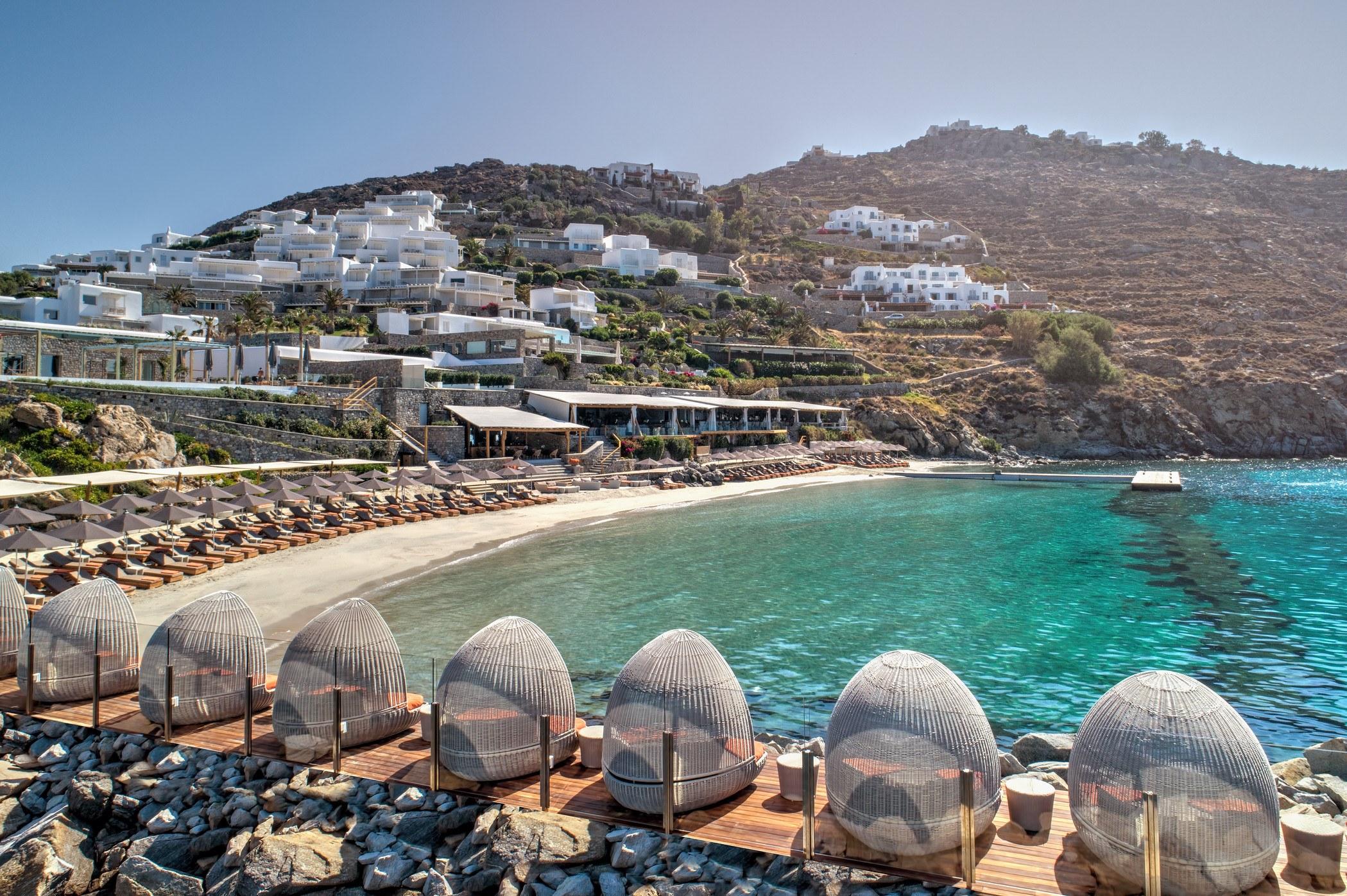 private beach santa marina